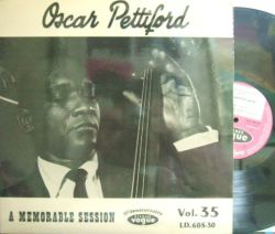 【仏Vogue mono】Oscar Pettiford/A Memorable Session (Tal Farlowe, Al Cohn, Max Roach, etc)