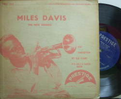 【米Prestige 10' mono】Miles Davis/The New Sounds (Sonny Rollins, Jackie McLean, Walter Bishop Jr, etc)
