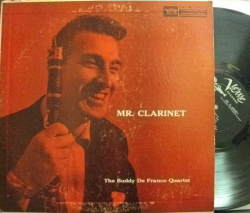【米Verve mono】Buddy De Franco/Mr. Clarinet (Kenny Drew, Art Blakey, Milt Hinton)
