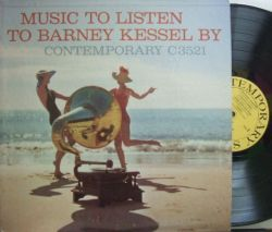 【米Contemporary mono】Barney Kessel/Music To Listen To