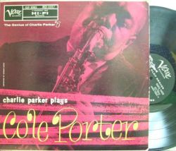【米Verve mono】Charlie Parker/Plays Cole Porter (Walter Bishop Jr, Roy Haynes, etc)