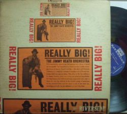 【米Riverside mono】Jimmy Heath/Really Big! (Cannonball Adderley, Tommy Flanagan, etc)