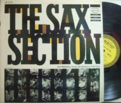 【米Epic mono】Al Cohn/The Sax Section (Gene Quill, Zoot Sims, Hank Jones, etc)