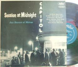 "【米Capitol mono】Benny Carter, Harry ""Sweet"" Edison, Willie Smith, Jimmy Rowles, etc/Session At Midnight - Jazz Reunion At Melrose"