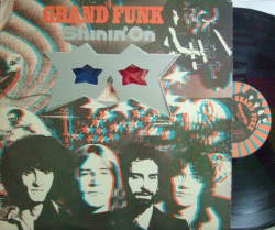 【米Capitol】Grand Funk/Shinin' On (3D glass + poster)