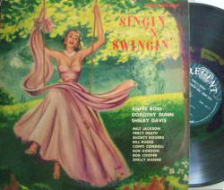 【米Regent mono】Annie Ross, Dorothy Dunn, Shelby Davis/Singin' And Swingin' (Milt Jackson, Art Pepper, etc)