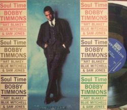 【米Riverside mono】Bobby Timmons/Soul Time (Blue Mitchell, Sam Jones, Art Blakey)