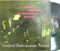 【米Verve mono】Oscar Peterson Trio/At The Stratford Shakespeaarean Festival