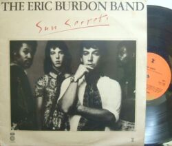 【英Capitol】Eric Burdon Band/Sun Secrets (factory sample)