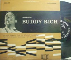【米Norgran mono】Buddy Rich/The Swinging (Sonny Criss, Benny Carter, Harry Edison, Gerald Wiggins, etc)