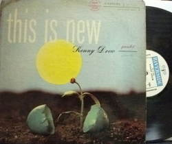 【米Riverside mono】Kenny Drew/This Is New (Hank Mobley, Donald Byrd, etc)