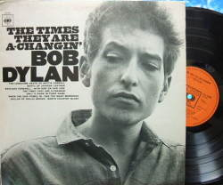 【英CBS】Bob Dylan/The Times They Are A-Changin'