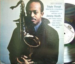 【米Riverside mono】Jimmy Heath/Triple Threat (Freddie Hubbard, Julius Watkins, Cedar Walton, etc) (promo)