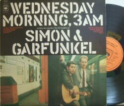 【英CBS】Simon & Garfunkel/Wednesday Morning, 3 AM  (マト1)