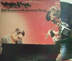 【米Verve】Bill Evans with Jeremy Steig/What's New