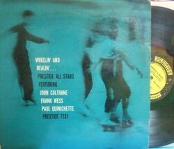 【米Prestige mono】Prestige All Stars featuring John Coltrane, Frank Wess, Paul Quinichette/Wheelin' And Dealin'