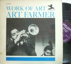 【米New Jazz mono】Art Farmer/Work of Art (Quincy Jones, Charlie Rouse, Horace Silver, etc)