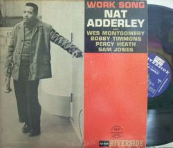 【米Riverside mono】Nat Adderley/Work Song (Wes Montgomery, Sam Jones, etc)