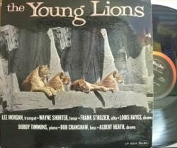 【米Vee Jay mono】Lee Morgan, Wayne Shorter, Frank Strozier, etc/Young Lions