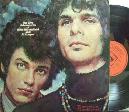 【英CBS】Mike Bloomfield-Al Kooper/The Live Adventures (Carlos Santana, Elvin Bishop)  (2LP)