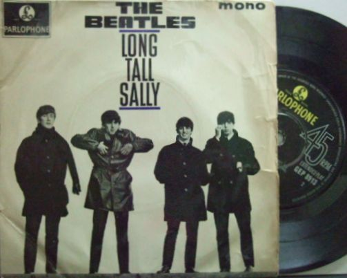 【英Parlophone mono】The Beatles/Long Tall Sally