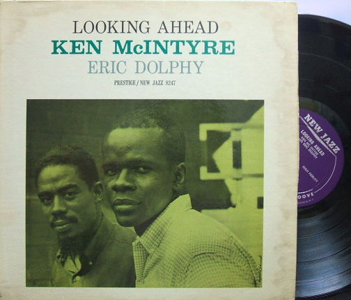 【米New Jazz mono】Ken McIntyre with Eric Dolphy/Looking Ahead