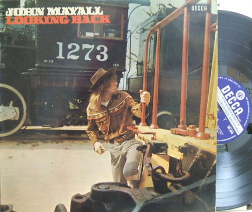 【英Decca】John Mayall/Looking Back (Eric Clapton, Jack Bruce, Peter Green, etc)