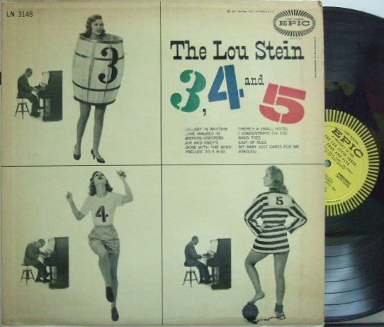 【米Epic mono】Lou Stein/Three, Four and Five