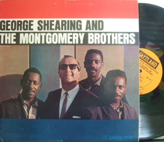 【米Jazzland mono】George Shearing/And The Montgomery Brothers (Wes Montgomery)