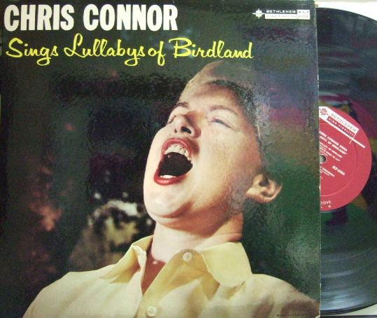 【米Bethlehem mono】Chris Connor/Sings Lullabys of Birdland