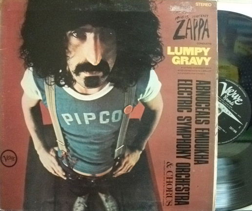 【英Verve】Frank Zappa/Lumpy Gravy (Paul Smith, Pete Jolly, Victor Feldman, Shelly Manne, etc)