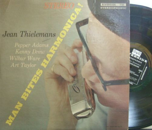 "【米Riverside】Jean ""Toots"" Thielemans/Man Bites Harmonica! (Pepper Adams, Kenny Drew, etc)"