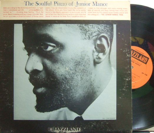 【米Jazzland】Junior Mance/The Soulful Piano
