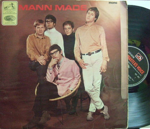 【英HMV mono】Manfred Mann/Mann Made