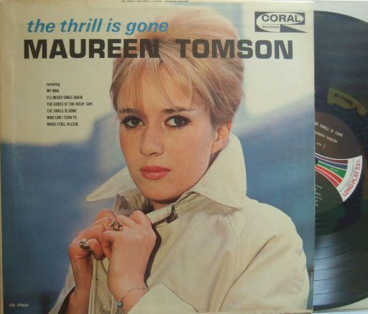 【米Coral】Maureen Tomson/The Thrill Is Gone