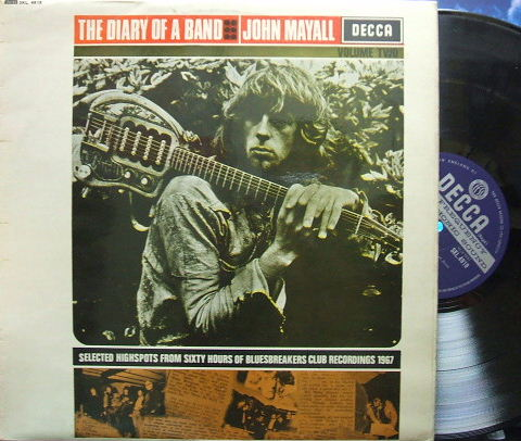 【英Decca】John Mayall/The diary of a band Vol.2 (Open Decca)