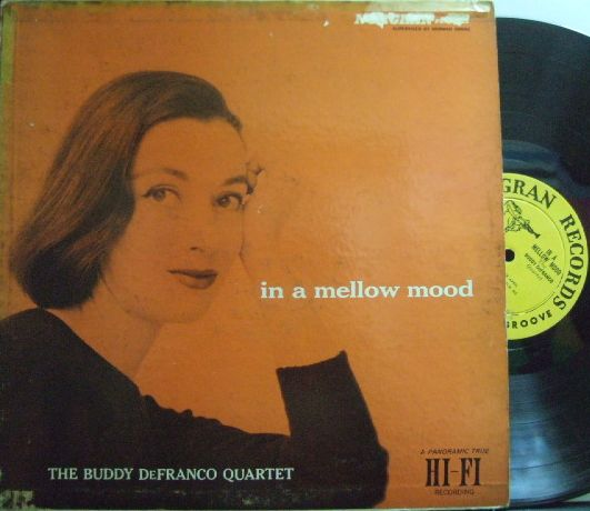 【米Norgran mono】Buddy Defranco/In A Mellow Mood (Sonny Clark, etc)