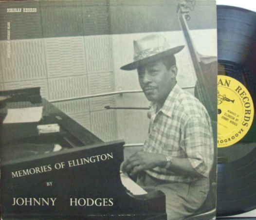 【米Norgran mono】Johnny Hodges/Memories of Ellington (Ben Webster, Flip Phillips, etc)