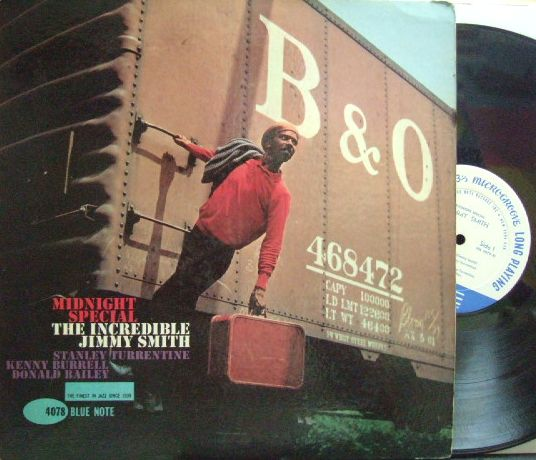 【米Blue Note NY mono】Jimmy Smith/Midnight Special (Kenny Burrell, Stanley Turrentine, etc)