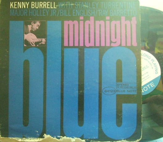【米Blue Note NY mono】Kenny Burrell/Midnight Blue (Stanley Turrentine)