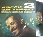 【米Contemporary】Hampton Hawes/All Night Session! Vol.2 (Jim Hall, Red Mitchell, etc)