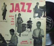 【蘭Philips mono】Rita Reys, Tony Vos, Wessel Ilcken, etc/Jazz Behind The Dikes no.2