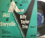 【米Roost mono】Billy Taylor Trio/Jazz At Storyville (Charles Mingus, etc)