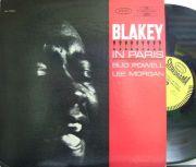 【米Epic】Art Blakey & Jazz Messengers/Blakey In Paris featuring Bud Powell, Lee Morgan (Barney Wilen)
