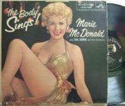 【米RCA Victor mono】Marie McDonald/The Body Sings