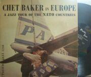【米Pacific Jazz/World Pacific mono】Chet Baker/In Europe