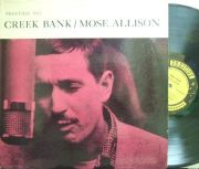 【米Prestige mono】Mose Allison/Creek Bank