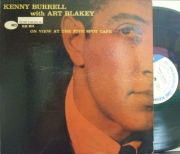 【米Blue Note 47w63rd mono】Kenny Burrell/At The Five Spot Cafe (Tina Brooks)