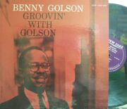 【米New Jazz mono】Benny Golson/Groovin' with Golson (Curtis Fuller, Ray Bryant, etc)