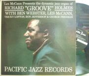【米Pacific Jazz mono】Richard Holmes/Groove (Ben Webster, Les McCann, etc)